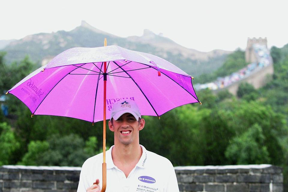 <p>Two years before the Beijing Summer Olympics, Phelps represented the United States on a Goodwill trip to the Chinese capital. </p>
