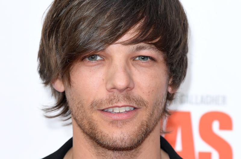 "LONDON, ENGLAND - JUNE 06: Louis Tomlinson attends the World Premiere of ""Liam Gallagher: As It Was"" at Alexandra Palace on June 06, 2019 in London, England. (Photo by Karwai Tang/WireImage)"