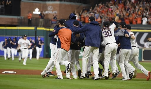 Astros fans are willing to pay serious amounts to see their team win its first World Series. (AP Photo/Eric Christian Smith)