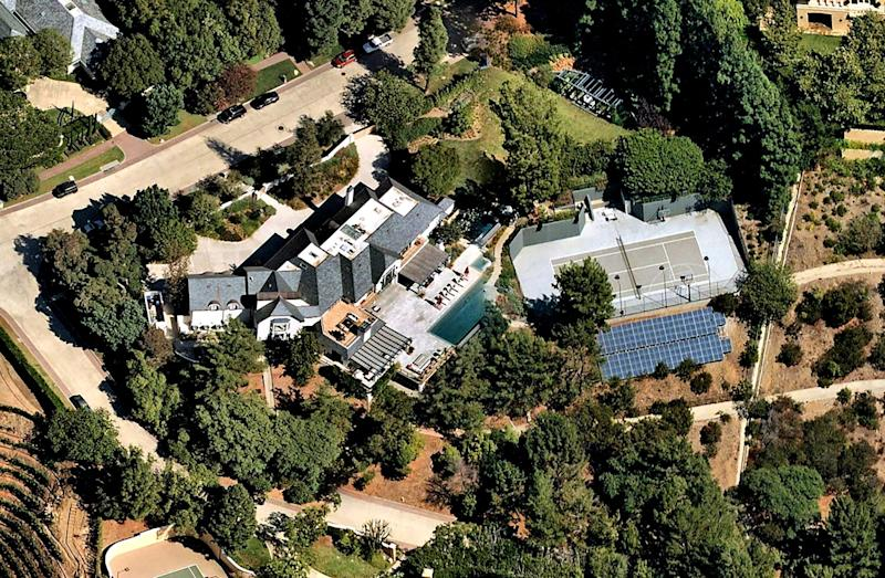 Justin Bieber and Hailey Baldwin have upgraded their living quarters in gated Beverly Park, paying $25.8 million.