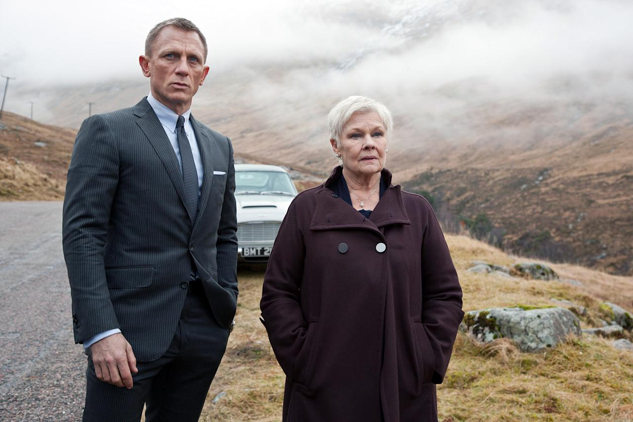 "<p>Stop reading right now if you haven't seen ""<strong>Skyfall</strong>,"" as the title's meaning holds a spoiler to the 23rd James Bond film. The title refers to the name of the Bond family estate in Scotland, which is a part of the Bond backstory unexplored in previous films. Bond, M, and a gamekeeper played by Albert Finney defend the house from Javier Bardem's Silva in a climatic scene that resembles a particularly violent version of ""Home Alone."" The scenes were not shot in Scotland; <a href=""http://www.dailymail.co.uk/tvshowbiz/article-2114557/James-Bond-star-Daniel-Craig-shoots-new-scenes-Skyfall-Lodge-Scotland-really-plaster-replica-Surrey.html"">they were filmed in Surrey, England</a>, at a replica house made of plywood and plaster.</p>"