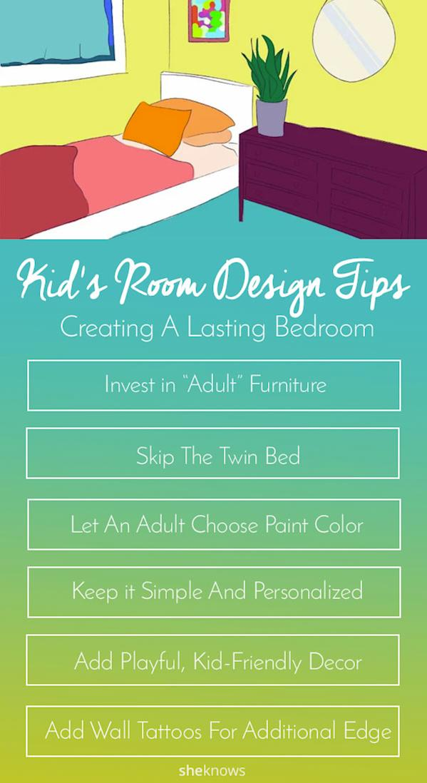 Pin it! Design Tips for a Kids Bedroom