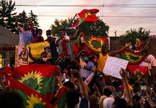 Protests even broke out in the Oromo community in the US state of Minnesota over the musician's death