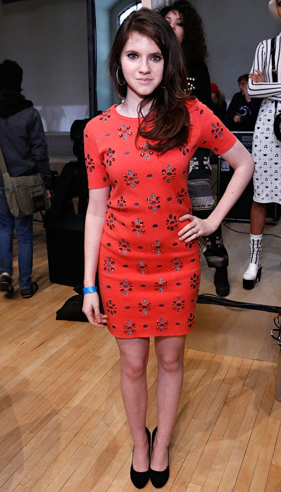 "<b>Kara Hayward at Chloe Sevigny for Opening Ceremony</b><br>The ""Moonrise Kingdom"" breakout star looks ready to break out as a true fashionista. (2/9/13)"