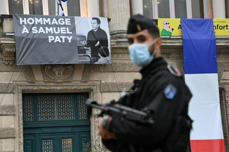 Teacher Samuel Paty, who showed Charlie Hebdo cartoons of Mohammed during a class on free speech, has been lionised since his beheading by a suspected Islamist attacker
