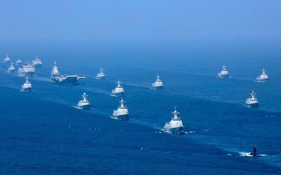 New AUKUS deal is the biggest military build-up since WWII - a new maritime Cold War has begun - Li Gang /Xinhua