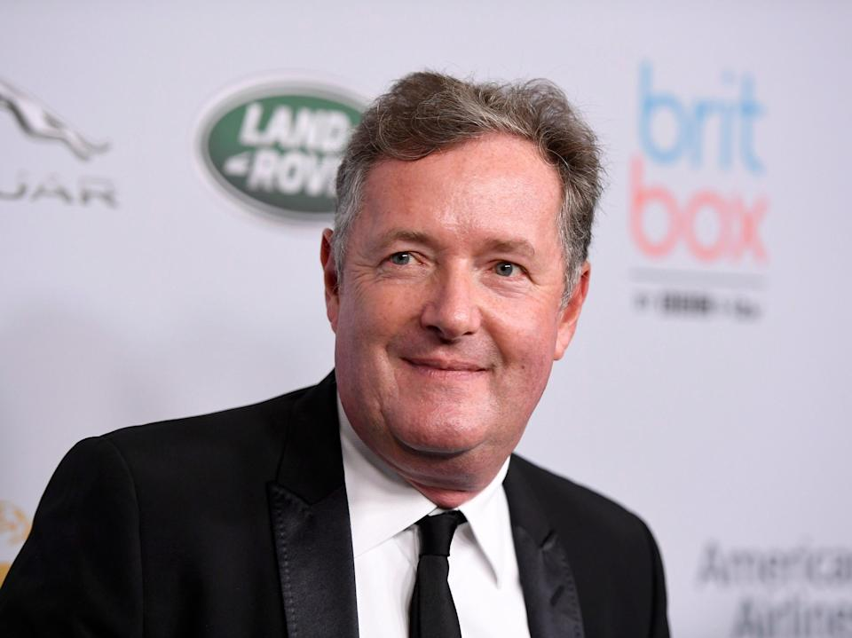 Piers Morgan photographed in 2019 (Getty Images for BAFTA LA)