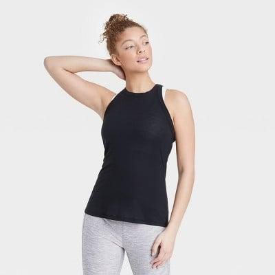 <p>This <span>All in Motion Active Ribbed Tank Top</span> ($10) is an essential.</p>
