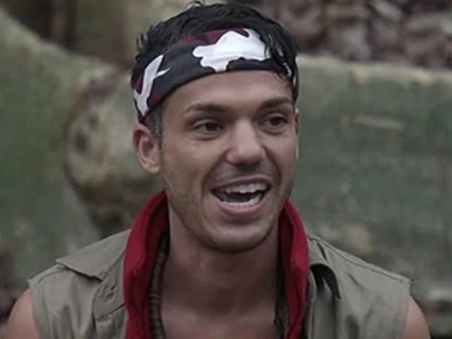 Anthony Callea on I'm A Celebrity... Get Me Out Of Here! Australia in 2016