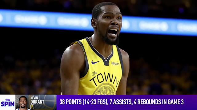 ad2abe07db55 Senior NBA Insider Chris Haynes talks about his one-on-one with Golden  State. Kevin Durant  ...