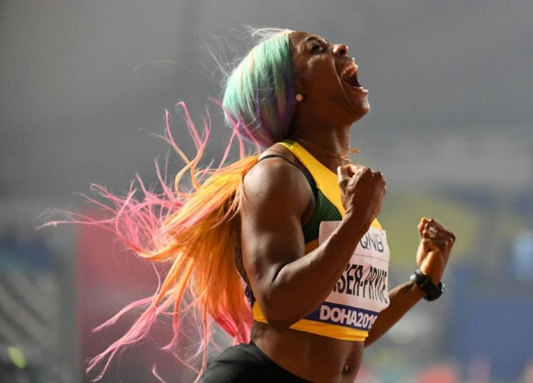 Fraser-Pryce says she refused to give in to those who believe having a baby is for when women have finished their sporting careers (AFP Photo/Jewel SAMAD)