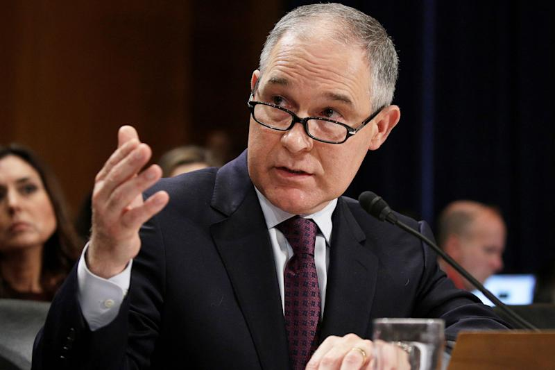 Scott Pruitt is dragging everyone into the swamp