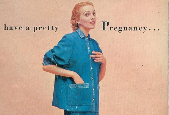 <p>Fashion leaned into maternity wear in the 1950s ... thank goodness.</p>