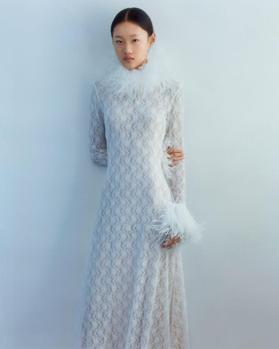 """<p>Even before the pandemic, huge changes had been taking place in the bridal market. From <a href=""""https://www.harpersbazaar.com/uk/bazaar-brides/a30609690/are-brides-turning-away-from-the-traditional-wedding-gown/"""" rel=""""nofollow noopener"""" target=""""_blank"""" data-ylk=""""slk:an increase in brides buying online to many of those opting for more casual designs and some even turning away from the idea of buying a dress just to be worn once"""" class=""""link rapid-noclick-resp"""">an increase in brides buying online to many of those opting for more casual designs and some even turning away from the idea of buying a dress just to be worn once</a>, the traditions have certainly been changing. </p><p>These developments, <a href=""""https://www.harpersbazaar.com/uk/bazaar-brides/g34424982/coronavirus-wedding-real-brides/"""" rel=""""nofollow noopener"""" target=""""_blank"""" data-ylk=""""slk:which have since been emphasised by the small weddings we've seen as a result of the pandemic"""" class=""""link rapid-noclick-resp"""">which have since been emphasised by the small weddings we've seen as a result of the pandemic</a>, have led to <a href=""""https://www.harpersbazaar.com/uk/bazaar-brides/a33443196/virtual-wedding-dress-shopping/"""" rel=""""nofollow noopener"""" target=""""_blank"""" data-ylk=""""slk:many more options for women to choose from"""" class=""""link rapid-noclick-resp"""">many more options for women to choose from</a> when it comes to finding their perfect wedding dress. From contemporary designer labels launching their own bridal collections to more modern and accessible wedding-dress designers popping up – some who sell dresses off the rack, rather than made-to-measure – there has never been a better time to be a modern bride.</p><p>If you are looking to avoid the traditional wedding dress and want something a little more contemporary, check out our round-up below which features 10 brilliant options to consider for your wedding day, many of which come in at a much more affordable price point than you might expect.</p>"""