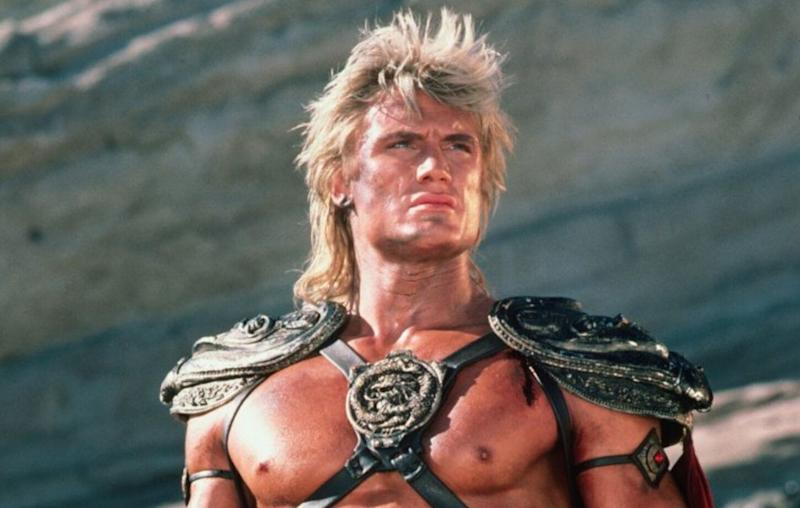 Dolph Lundgren portrayed He-Man in the 1987 movie 'Masters of the Universe'. (Credit: Cannon Films)