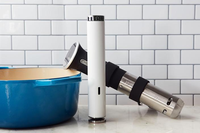 What's the best sous vide cooker for the money? It depends on whether you prioritize a slim profile and high design, like the Joule, or easy operation, like the Anova.