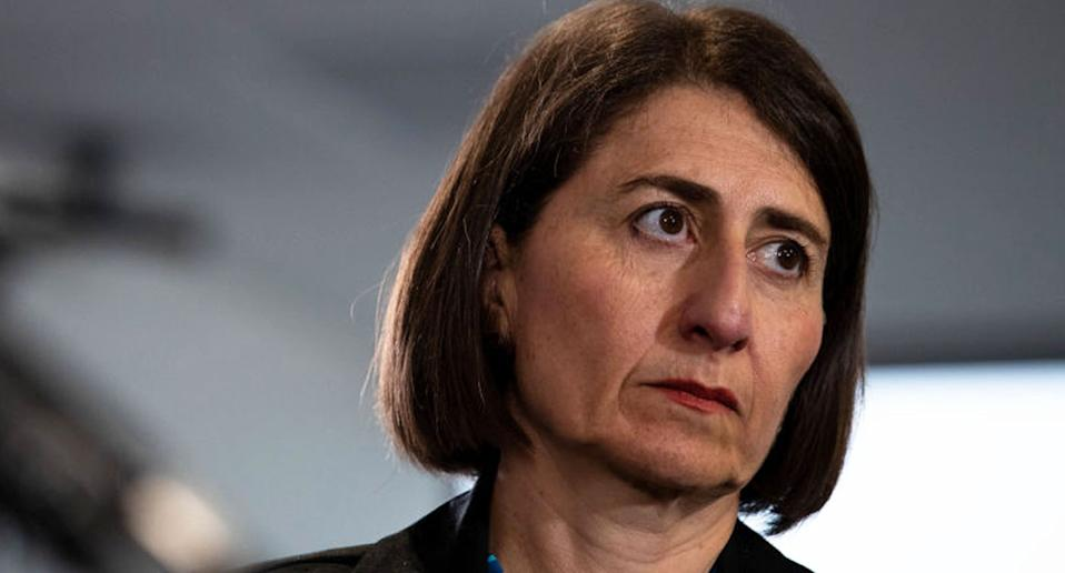 Gladys is urging all Sydney residents to stay home when they can. Source: Getty