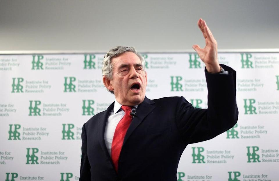 Gordon Brown said a cut in Universal Credit will result in increased fuel poverty (Victoria Jones/PA) (PA Archive)