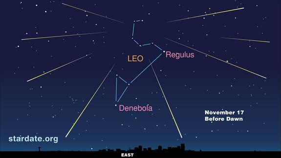 Leonid Meteor Shower Peaks Before Dawn Saturday