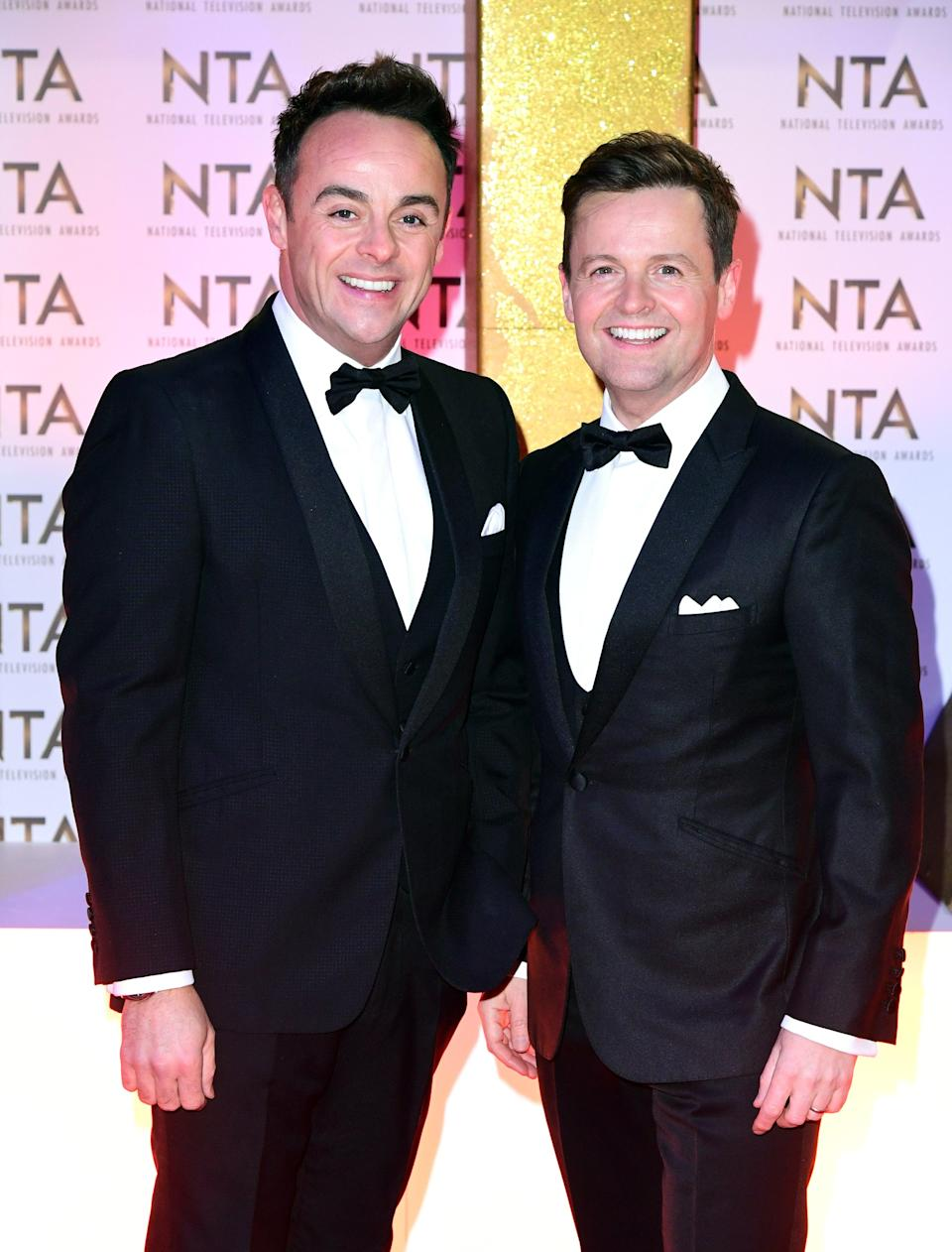 Ant McPartlin and Declan Donnelly (Ian West/PA) (PA Archive)