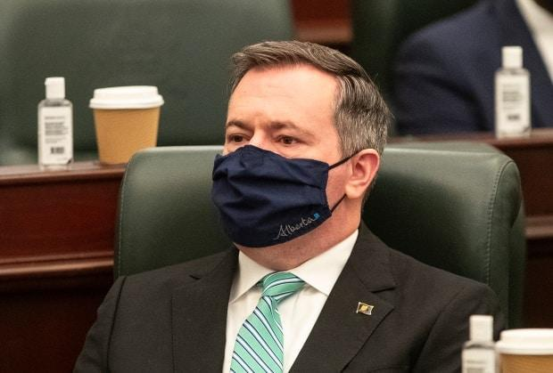 Alberta Premier Jason Kenney denies he broke COVID restrictions at a restaurant, and the outlet that published the allegations walked back many of those details, then fully retracted the article and apologized. (Jason Franson/The Canadian Press - image credit)
