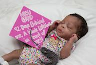 "<p>""NICU GRAD, 42 Days Behind Me, A Whole Lifetime In Front Of Me!! 2017"" <em>(Photo via: <a rel=""nofollow noopener"" href=""https://www.bellababyphotography.com/"" target=""_blank"" data-ylk=""slk:Bella Baby Photography"" class=""link rapid-noclick-resp"">Bella Baby Photography</a>)</em> </p>"