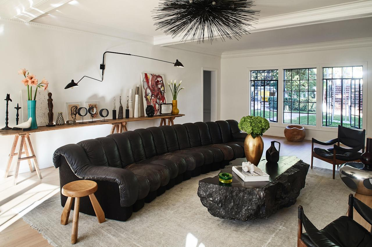 "An Eclectic Home With ""Good Vibes"" and Personality to Spare"