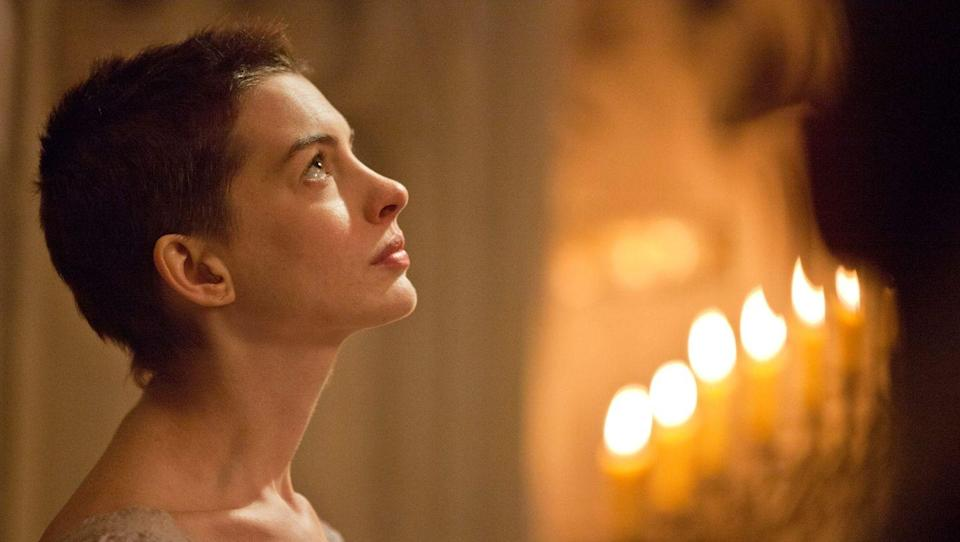 <p>While shaving your head for a role can feel like a big sacrifice, it usually pays off — just ask Anne Hathaway. The actress took home the Academy Award for Best Actress for her performance in <em>Les Misérables</em> after she received her rough chop on camera. </p>