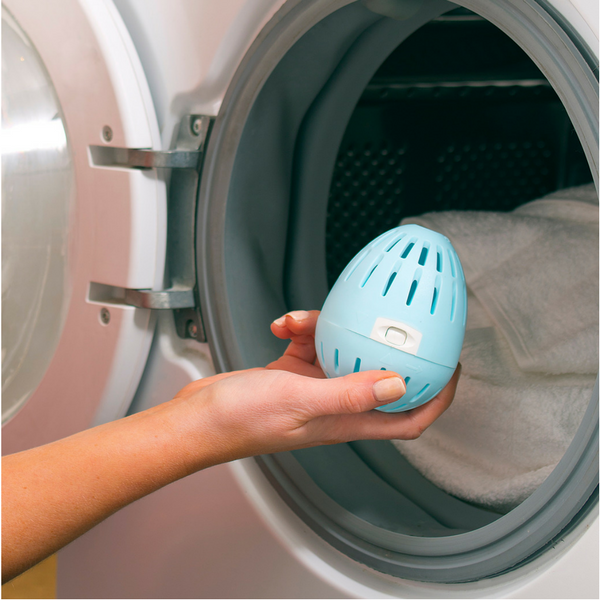 The Ecoegg will tumble for you: Just toss it in the machine and wait for the clean, at pennies per load. (Photo: Ecoegg.com)