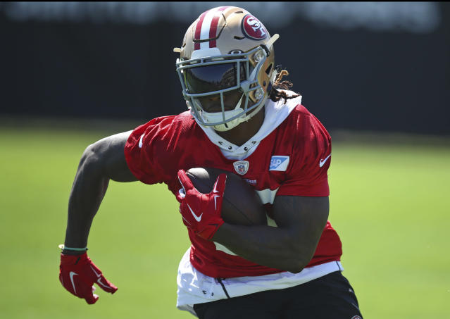 Report: 49ers RB Jerick McKinnon out for season after MRI reveals torn ACL