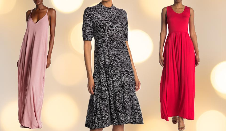 Save big on frocks of all styles. (Photo: Nordstrom Rack)