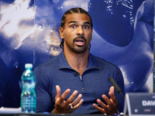Haye insisted he would retire if he couldn't beat Bellew comfortably (Getty)