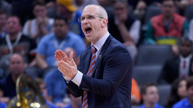 <p>Rhode Island's Danny Hurley 'in play' for Georgetown head coaching job, SN source says</p>