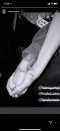 """<p>After surprising fans by joining Julia Michaels onstage at her concert, Selena Gomez headed backstage with her BFF and the two got matching arrow tattoos, which point to each other when they hold hands. """"My arrow points to you forever,"""" Selena wrote on Instagram, showing off a pic of the tats. </p>"""