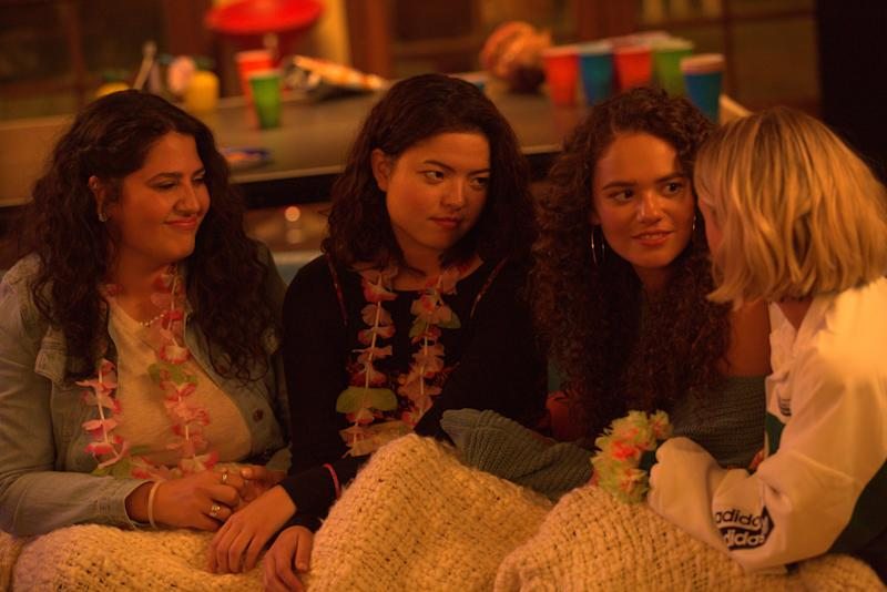 The all-female cast of 'American Pie Presents: Girls' Rules (Photo: Universal/1440 Entertainment)