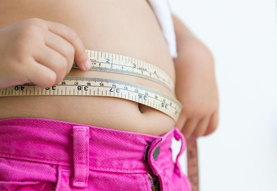 A mum has divided the Internet after raising concerns about her daughter's weight [Photo: Getty]
