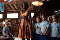 "<p>Watch Lupita Nyong'o as a schoolteacher fighting to save her class when a zombie apocalypse breaks out in this Hulu original film that premiered last year. If she's got skills like her <em>Us</em> character, everything will probably be all right.</p> <p><a href=""https://www.hulu.com/movie/little-monsters-1110bd42-c856-4ba3-8093-5377414f1c4c"" rel=""nofollow noopener"" target=""_blank"" data-ylk=""slk:Available to stream on Hulu"" class=""link rapid-noclick-resp""><em>Available to stream on Hulu</em></a></p>"