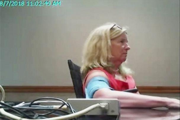 PHOTO: Christine Blasey Ford undergoes a polygraph examination on Aug. 7, 2018, in a photo provided by her legal team. (Obtained by ABC News)
