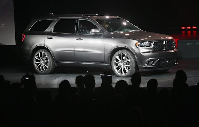 <p>Full-size Crossover/SUV, 3rd Place: 2011-2016 Dodge Durango (Getty) </p>