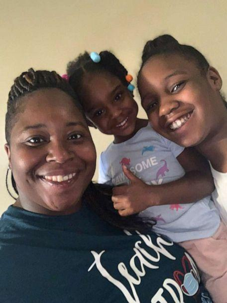 PHOTO: Monique Nash poses with her three-year-old and nine-year-old daughters. Nash is a preschool teacher at Funtime Preschool in Clinton, Miss. (Funtime Preschool)