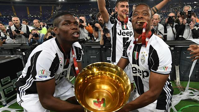 Marseille left-back Patrice Evra says his former Juventus colleague Paul Pogba has to be wary of how his image is perceived in football.