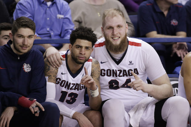 Gonzaga is the top dog in the West and is a Final Four frontrunner, despite the detractors. (AP)