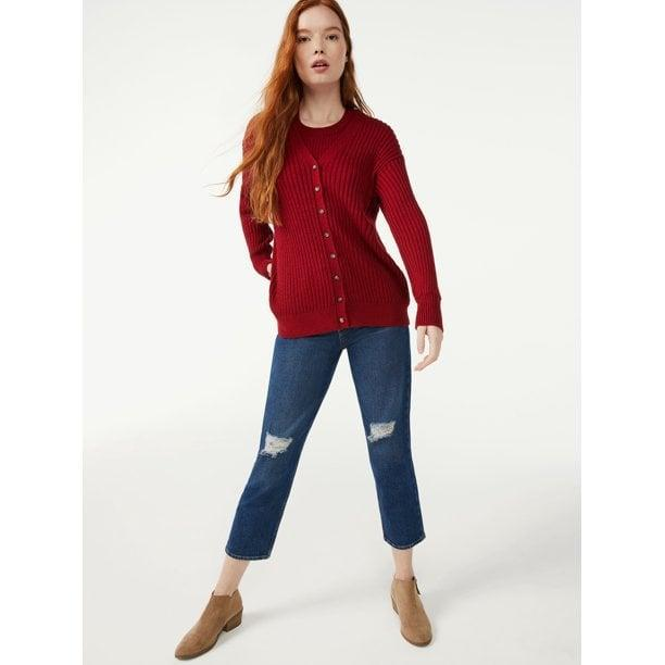 <p> </p> <p>We love the idea of wearing this <span>Free Assembly Women's Long Sleeve V-Neck Long Cardigan</span> ($24) over a matching tank for a polished and put-together monochrome look.</p>