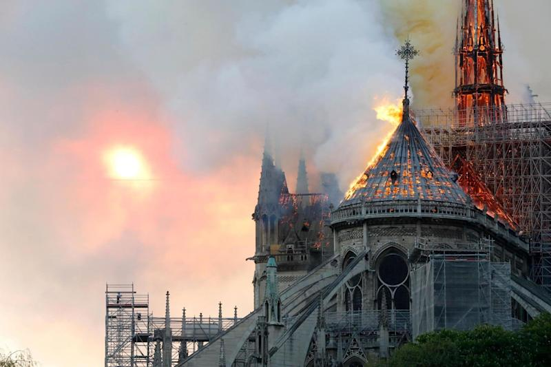 Notre Dame cathedral fire: From Theresa May to Donald Trump, world leaders react to devastating blaze