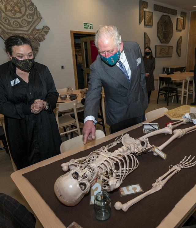 Prince of Wales visits Cirencester