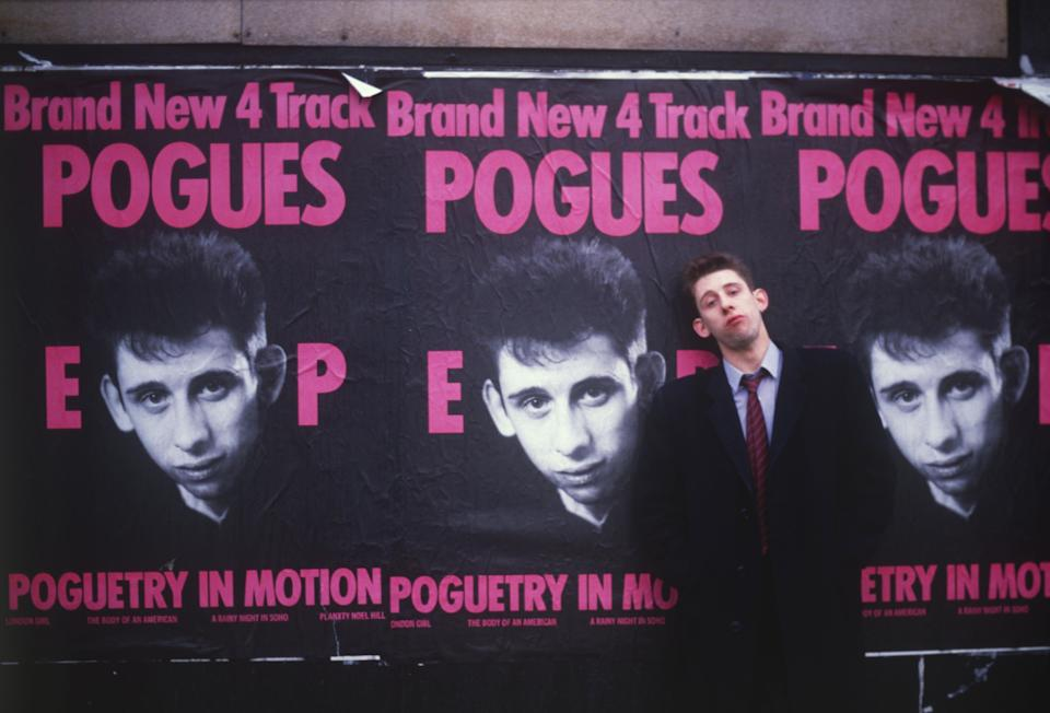 A reverential documentary about the Pogues frontman Handout /  Andrew Catlin