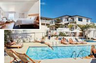 """<p><b>Laguna Beach, California</b></p> <p>If surfers had money and cared more about design than the morning swell, this would be their ultimate hangout. Such is the promise and delivery at this superbly crafted redo of a circa 1930s motor lodge right in the surf-centric, artsy heart of Laguna Beach. Casting his eye westward from an empire of chic creations in New York City and the Hamptons, <a href=""""http://www.robertmckinley.com/"""" rel=""""nofollow noopener"""" target=""""_blank"""" data-ylk=""""slk:designer Robert McKinley"""" class=""""link rapid-noclick-resp"""">designer Robert McKinley</a> has crafted a fresh iteration of California cool in the hotel's 22 whitewashed guest rooms with sculptural lighting, bentwood and caned furniture, vintage barware, idiosyncratic small oil paintings, and confident use of a natural-forward palette that lets the ocean out the windows do the talking. Rates start at $309; <a href=""""https://hoteljoaquin.com/"""" rel=""""nofollow noopener"""" target=""""_blank"""" data-ylk=""""slk:hoteljoaquin.com"""" class=""""link rapid-noclick-resp"""">hoteljoaquin.com</a>.</p>"""