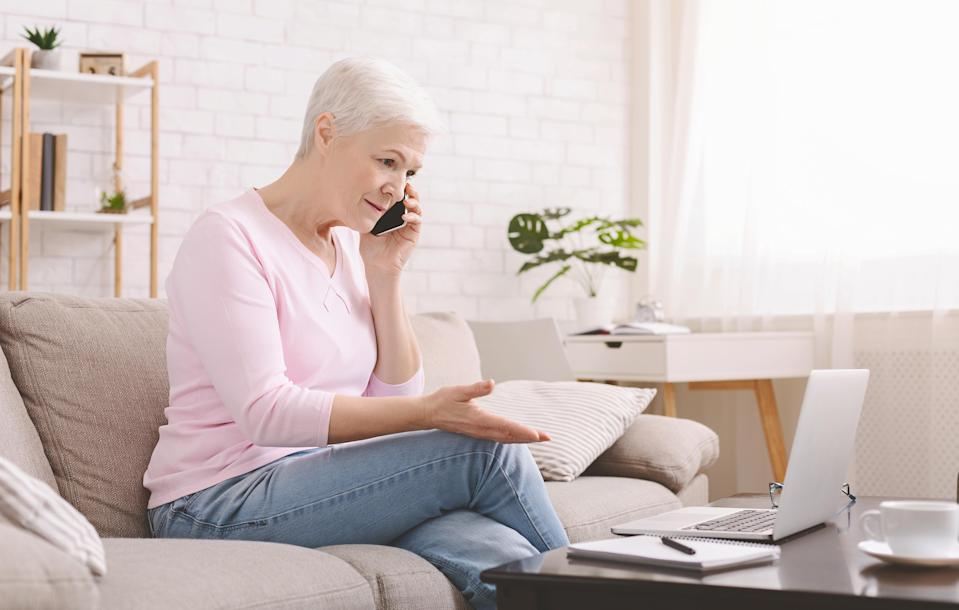 Online predators capitalize on COVID to scam unsuspecting seniors. (Photo: Getty)