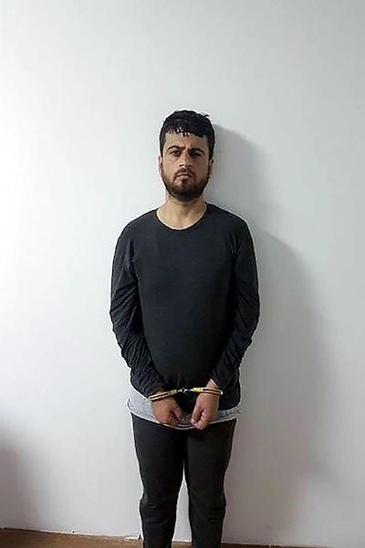 A handout photo released on September 12, 2018 by Demiroren News Agency shows Turkish citizen Yusuf Nazik, accused of planning the 2013 Reyhanli bombing (AFP Photo/-)