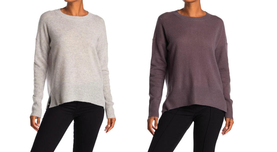 M Magaschoni Pullover Cashmere Sweater is $26 off. (Photo: Nordstrom Rack)